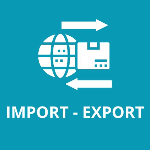 Import export, national et international