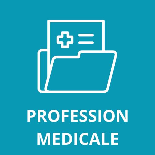 Profession médicale, médecin, infirmier, cardiologue, dermatologue, pneumologue, dentiste, chirurgien, génycologue