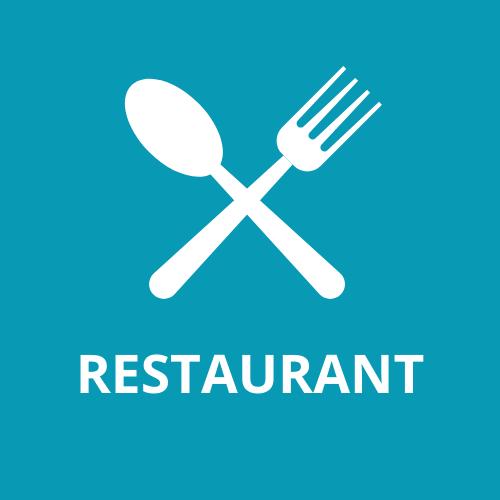 Restaurant, pizzeria, vente à emporter
